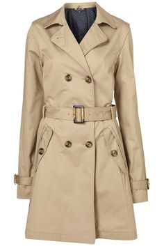 Topshop Tail Piped Trench Coat for Paris