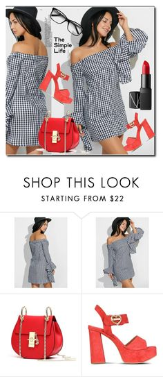 """""""The simple life"""" by lindaking67 ❤ liked on Polyvore featuring Love Moschino and NARS Cosmetics"""