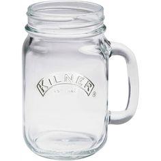 Kilner Glazen Beker met Handvat, 420ml