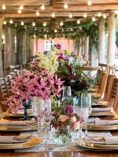Cenas de um casamento: decoração para uma festa no campo - Casa