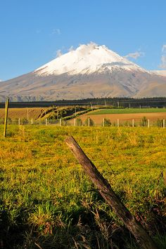 Volcán Cotopaxi  Ecuador. I've wanted to visit this volcano for years!!! Next year!