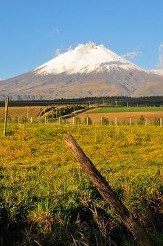 Volcán Cotopaxi  Ecuador