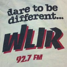 Blast From The Past: WLIR 92.7 FM: Dare To Be DIfferent...