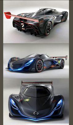 2008 Mazda Furai Concept Future Concept Cars, Futuristic Cars, Amazing Cars, Mazda, Yamaha, Race Cars, Concept Art, Automobile, Racing