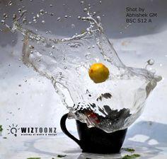 Splash Photography - Student Output of Batch - B.Sc - S12 A and B #Animation #Multimedia www.wiztoonz.com