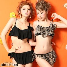 2bf24df728 13 raffle ribbon swimsuit set (aimerfeel  Eymet feel   swimsuit   bikini    Lady s. Bikini SetSwimsuitBikiniBathing SuitsSwimwearOne Piece ...