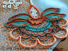 Outstanding Crochet: Best Irish Crochet Lessons at IrishCrochetLab.com....