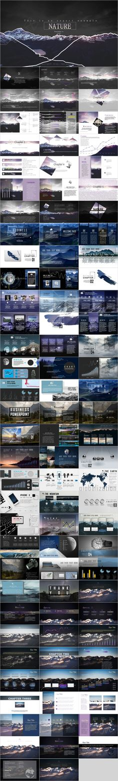 4 in 1 mountains background template – The highest quality PowerPoint Template… Simple Powerpoint Templates, Powerpoint Tutorial, Professional Powerpoint Templates, Keynote Template, Background Powerpoint, Background Templates, Best Office, Infographic Powerpoint, Mountain Background