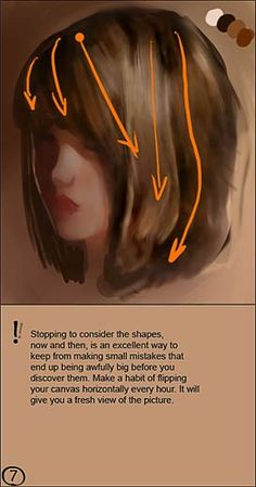 CGSociety - Tutorial: How to Paint Realistic Hair Acrylic Tutorials, Digital Painting Tutorials, Digital Art Tutorial, Art Tutorials, Painting Videos, Hair Painting, Painting Portraits, Paintings, Art Et Architecture