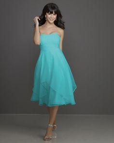 aquamarine bridesmaid dresses | Aqua bridesmaid dress | Wedding Ideas
