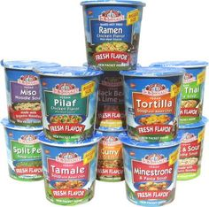 Dr. McDougall's list of healthy, low fat packaged and canned foods that are convenient for on-the-go eating!