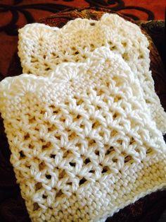 Boot Cuffs Crochet Mittens, Knit Crochet, Boot Cuffs, Chrochet, Crochet Projects, Crocheting, Craft Ideas, Blanket, Cream