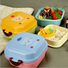 Best price on Bento Lunch Box For Kids //   See details here: http://smartkitchentools.com/product/2015-microwave-plastic-bento-lunch-box-for-kids-2-layer-lunch-box-food-container-lunchi-box-cute-bento-box-lunch-pail/ //    #delicious #eating #foodpic #foodpics #eat #hungry #hot #foods #dessert #cake #icecream #delicious