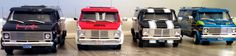 1:16 Highway 61 1974 Chevy Customs Vans