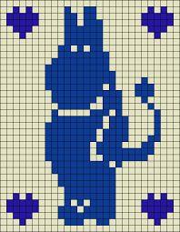 Knitting Charts Moomin 24 Ideas – The Best Ideas Knitting Charts, Knitting Patterns Free, Baby Knitting, Stitch Patterns, Knitted Mittens Pattern, Knit Mittens, Knitted Gloves, Knitted Baby Blankets, Fair Isle Knitting