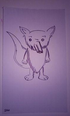 5-3-2016 Another cartoon fox