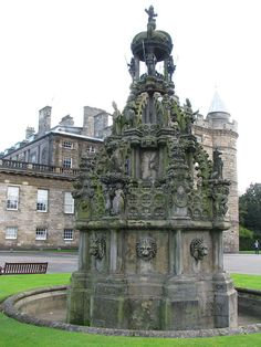 Holyrood Palace, Edinburgh, Scotland. Home to Queen Elizabeth, in early summer for a few weeks.
