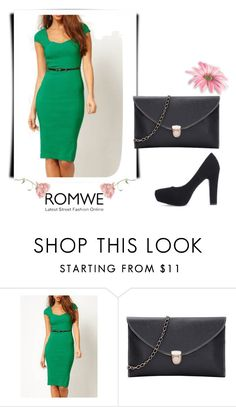 """""""ROMWE - 3/9"""" by thefashion007 ❤ liked on Polyvore"""