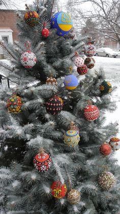 Ukraine, from Iryna Ukrainian Christmas, Ukrainian Easter Eggs, Eastern Europe, Ukraine, Folk Art, December, Christmas Tree, Culture, Crafty