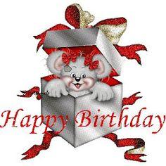 Teddy Bear Inside Gift wishes you a Happy Birthday