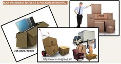 Maa Vaishnavi Packers & Movers in Bhopal, our team members are committed to executing the personalized service and customized results our customers desire. Although each and every shifting we perform is unique, one constant feature is our disciplined formula for ensuring a successful Shifting/relocation experience.  Contact us today for Office Relocation/Shifting @ +91-9926770239 or mail us @ maavaishnologistic_bpl@yahoo.com!  @Mvlgroup