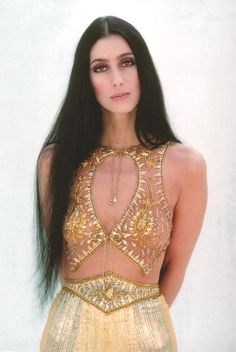 Cher.... I don't know why she didn't love herself as she was.... she was gorgeous, now she just looks fake :(