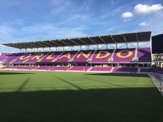 Experience a MLS game at the new home of Orlando City and Orlando Pride in #DowntownOrlando.