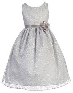 d8e4a433234 OLIVIA KOO Lovely Floral Lace Flower Girl Dress OLIVIA KOO http   www.