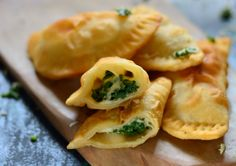This festive season why not flavour your gujiya with spinach and cheese instead of the usual sweet coconut gujiya. Serve it with yogurt dip for brunch teatime parties or for Diwali party. Recipe By Shaheen. #DiwaliRecipe .   http://ift.tt/2etTXDb #Vegetarian #Recipes