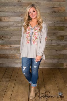 Sweet Moments Top/Tunic - Sage