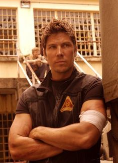 Michael Trucco - oh Anders, how I miss you and BSG.