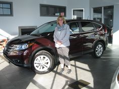 Congratulations Debra on your new 2013 CRV EXL! Cindy and everyone here at Sherwood Honda wish you the very best!!