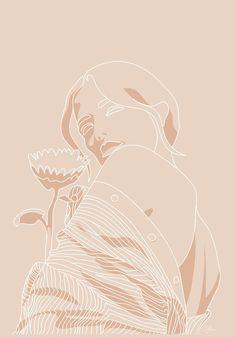 one line art Illustration Design Graphique, Illustration Art, Animal Illustrations, Design Illustrations, Cute Wallpapers, Wallpaper Backgrounds, Art Minimaliste, Abstract Line Art, Art Moderne