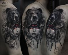 Shaman by Olggah Tattoo