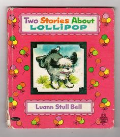 Vintage Children's Book, Lollipop a sheepdog story, Whitman Tell A Tale Book