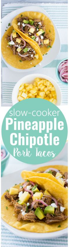 Taco Recipes on Pinterest | Tacos, Pork Tacos and Pineapple Salsa