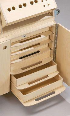 Werkzeugkoffer: Details #woodworkingtools