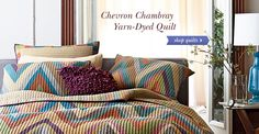 Quilts, Bed Covers: Bedspreads, Throws, Shams   The Company Store