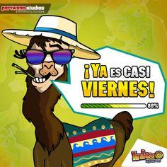 La Llama dice TGIF. #tgif #blackfriday #thanksgiving #inkamadness #games #apps #App #ios #wp #peru #videogames #play