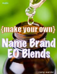 Make Your Own Name Brand Essential Oil Blends!