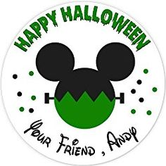40 labels Circle Halloween Mickey Stickers, Personalized Labels, Custom Party Favor Tags, Choice of Size Halloween Labels, Halloween Stickers, Halloween Fun, Party Favor Tags, Personalized Stickers, Personalised Stickers, Halloween Signs