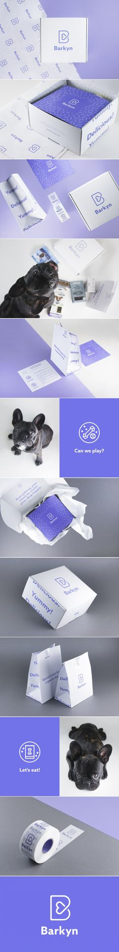 Barkyn Is the Adorable Pet Subscription Service You Didn't Know You Needed — The Dieline | Packaging & Branding Design & Innovation News