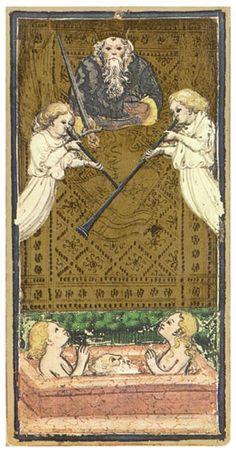 Visconti-Sforza tarot - Judgement