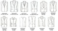 Manga Drawing Patterns Types of Jackets, text, suits, clothes; How to Draw Manga/Anime