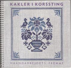 Kakler I Korssting Ii/ Cross-stitch Tiles Ii. Tegnet/designed: Ida Winckler.