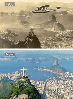 22 Jaw-Dropping Before-And-After Pics Showing How Famous Cities Have Changed - UltraLinx