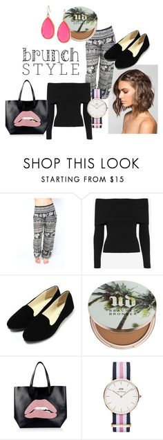 """Brunch Style"" by onetribeapparel ❤ liked on Polyvore featuring A.L.C., Urban Decay, RED Valentino, Daniel Wellington and Kate Spade"