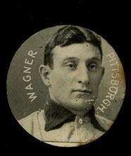 A Honus Wagner card that won't set you back a million dollars: 1913 E254 Colgan's Chips disc cards were issued in a gum product.