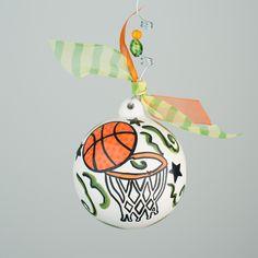 For Coach Redmond, Glory Haus - Basketball Ball Ornament