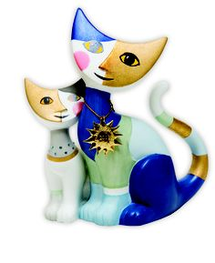 TOP 25 PICKS FOR YOUR HOME.  Rosina cats.  The collectable porcelain  Rosina Wachtmeister range is  for all cat lovers. Prices range  from $55 to $230.